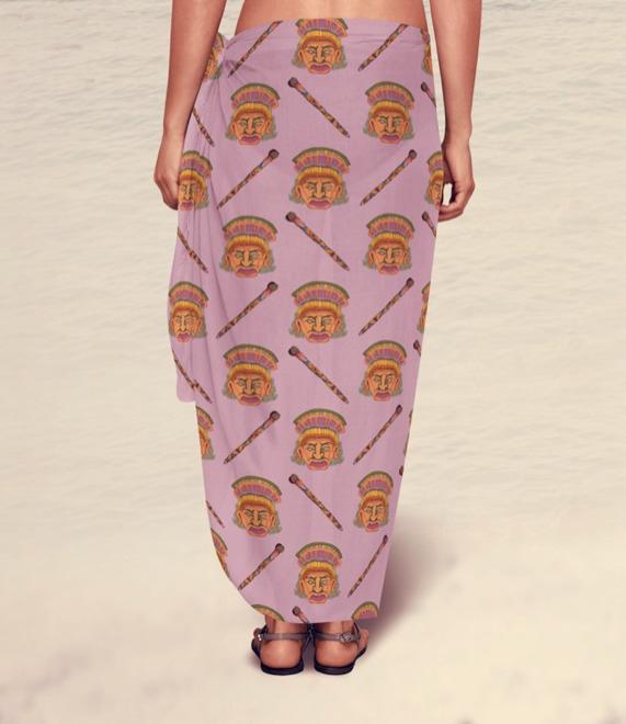 Sarong - pattern, surfacedesign - irene_rofail   ello