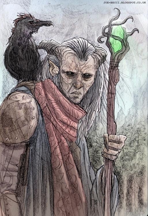 Dragon Age - Vashoth Mage - joebecci | ello