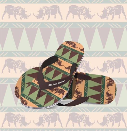 Flip flops - pattern, surfacedesign - irene_rofail | ello