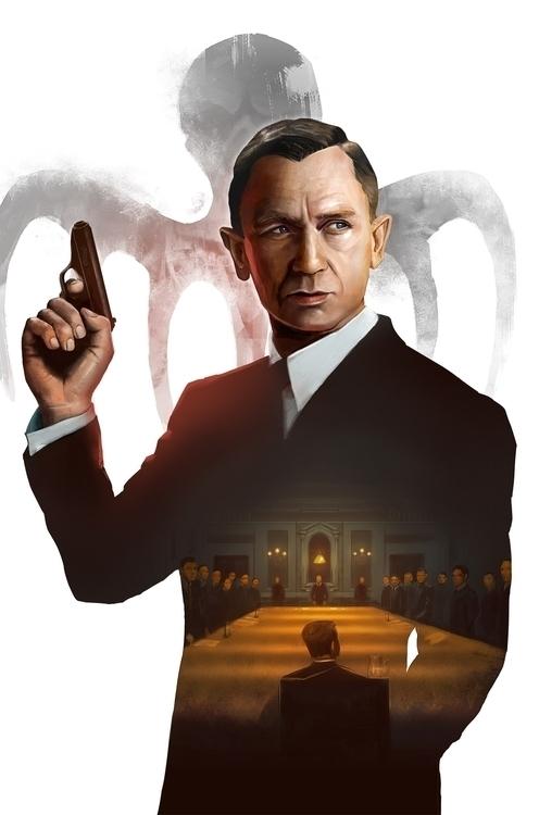 Spectre - James Bond - spectre, jamesbond - davidbelliveau | ello
