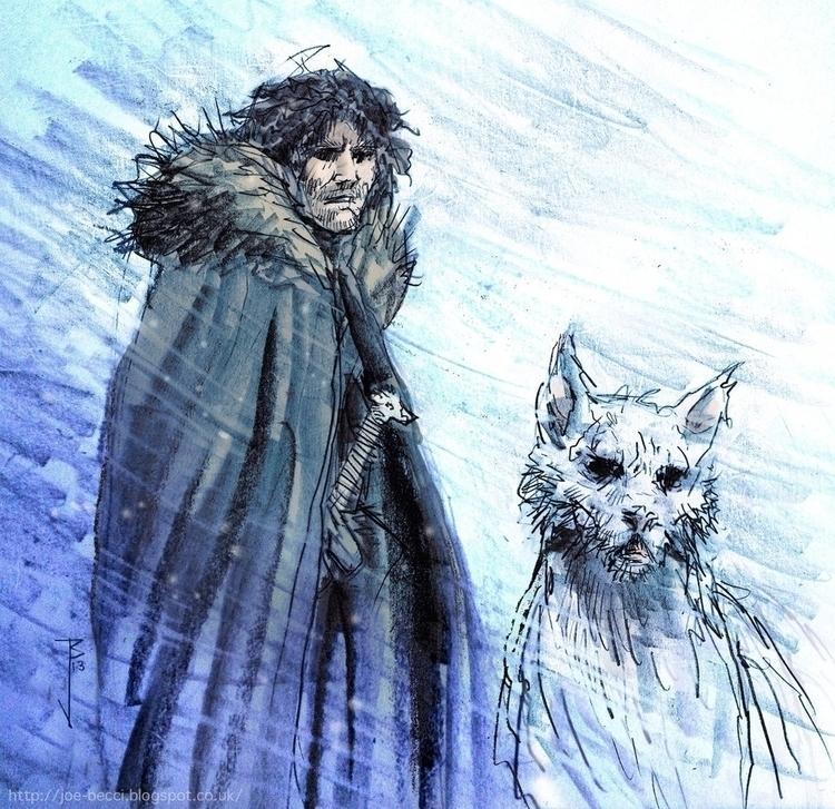 Game Thrones - Jon Snow - joebecci | ello