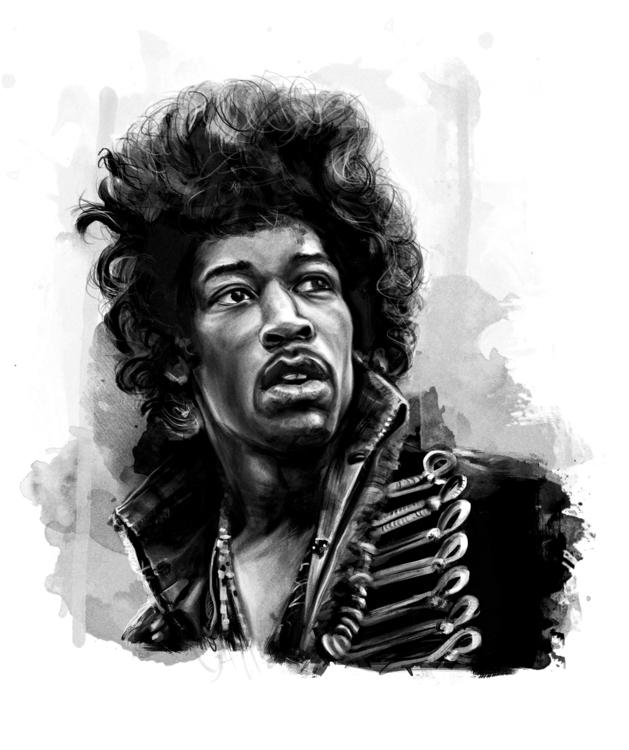 Jimi Hendrix - music, musicians - johnt-1153 | ello