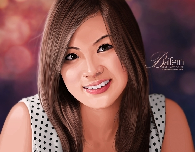 Baifern Fan art - illustration, vector - orjel | ello