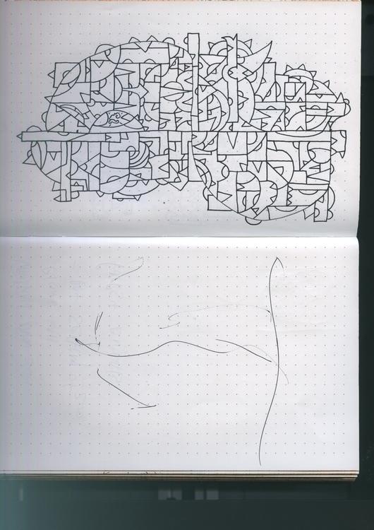 tiki sketch sideways 6 - tribal - torresj | ello