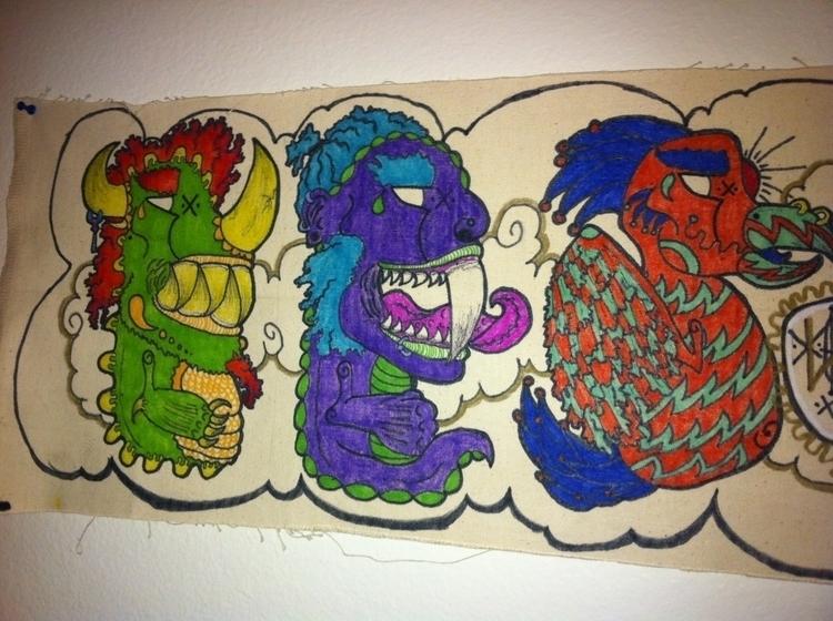 character portrait zoom - monsters - torresj | ello