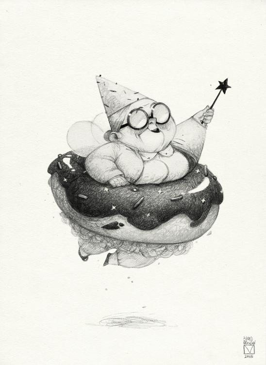 Sketchtober | 015 - illustration - blad_moran | ello
