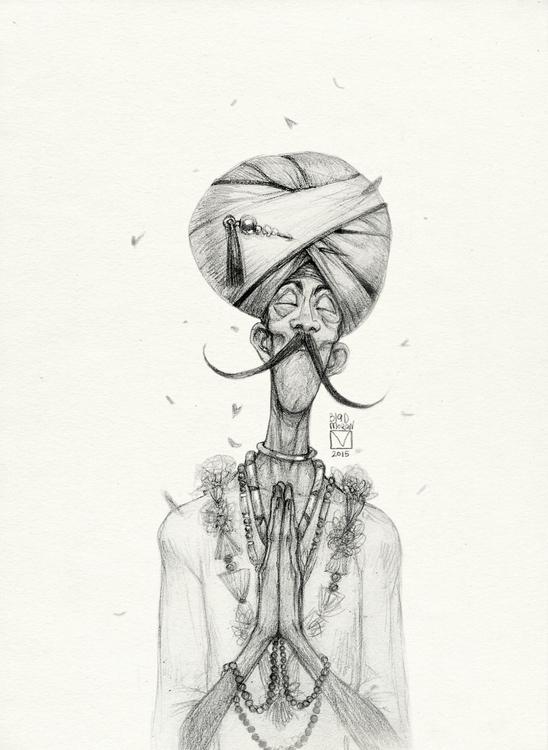 Sketchtober | 018 - characterdesign - blad_moran | ello