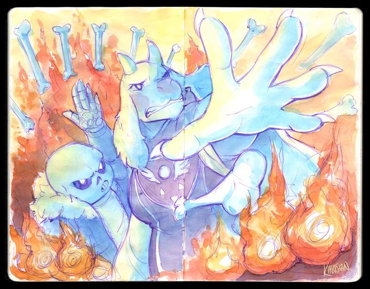 sketchbook champ - illustration - jamiekinosian | ello