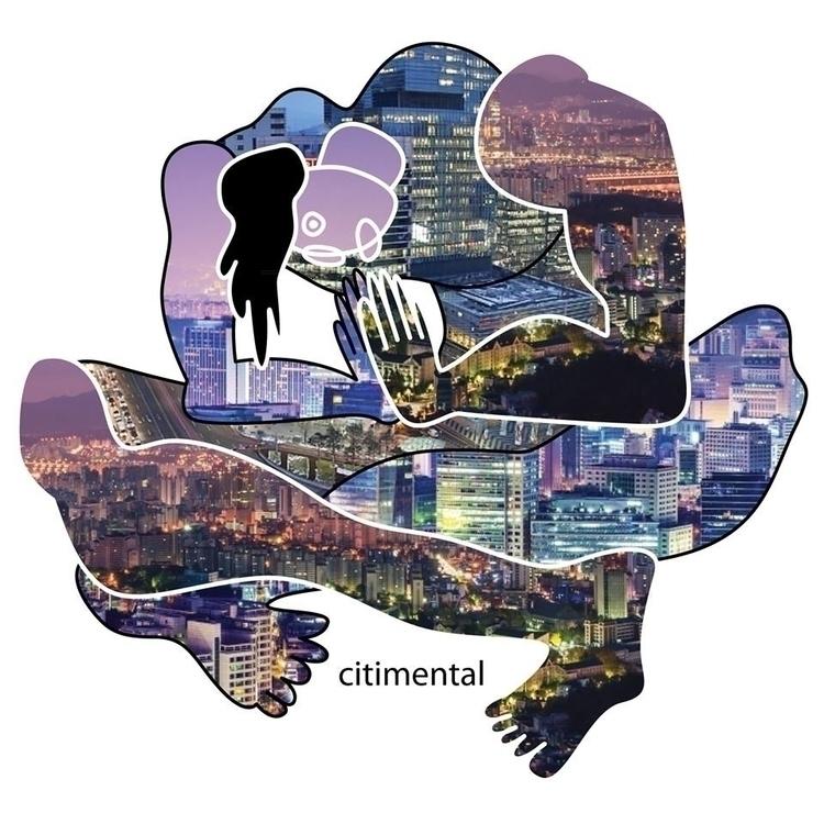 city mind - illustration, art, artist - albertkiwi | ello