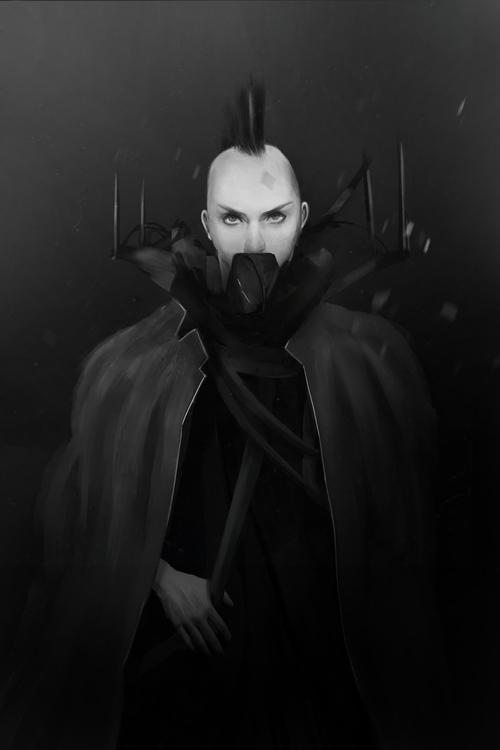 Daily Paint - characterdesign, dark - madbrushes | ello