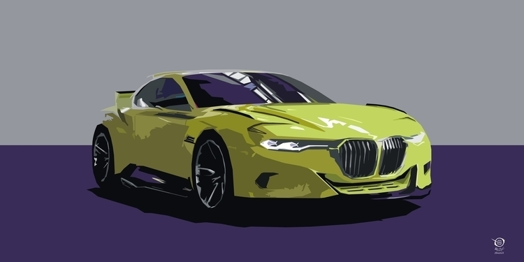 BMW - bmw, car, digital, digitalart - zelko-4504 | ello