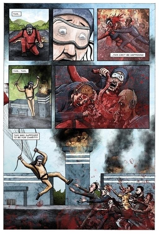 Page comic illustrated Dead Roo - siclark | ello