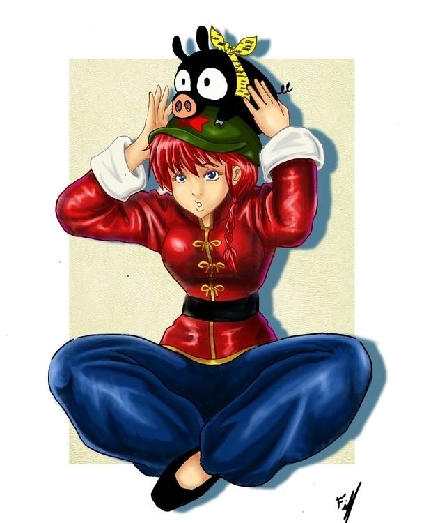 Ranma 1/2!! favorites Mangas - illustration - firsoff | ello