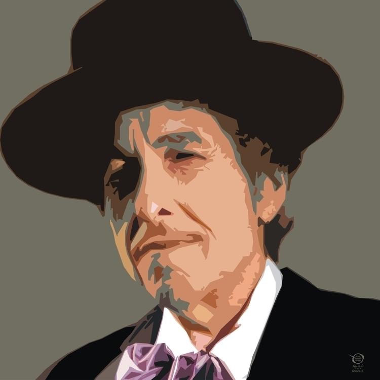 Dylan - dylan, bobdylan, portrait - zelko-4504 | ello