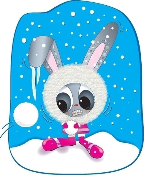 Snow Bunny - Ice, Winter, Eskimo - kvoerg | ello
