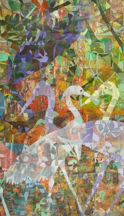 42x43painting kaleidoscope repe - sabrinajill | ello