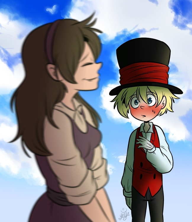 Ahhh, young love - illustration - yeyeliz | ello