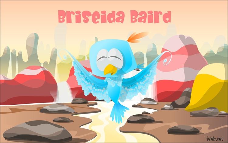 Briseida bird - illustration - teleb-1972 | ello