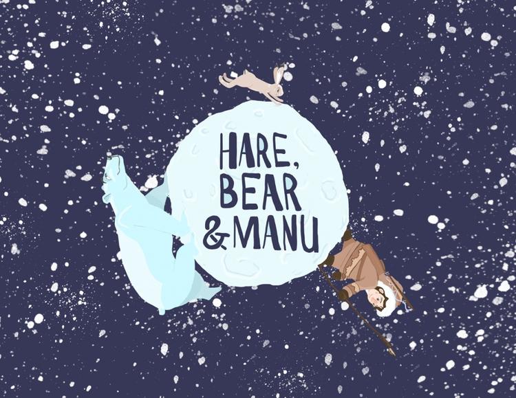 alt. cover 'hare, bear manu - hare,bearmanu - cjwords | ello