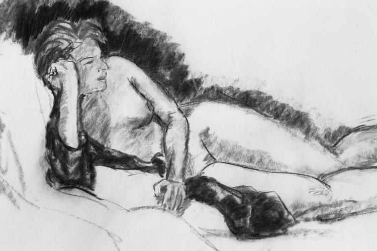 Life Drawing July 7, 2015 - lifedrawing - meganpellino | ello