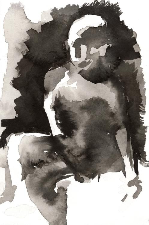 Life drawing July 21, 2015 - lifedrawing - meganpellino | ello