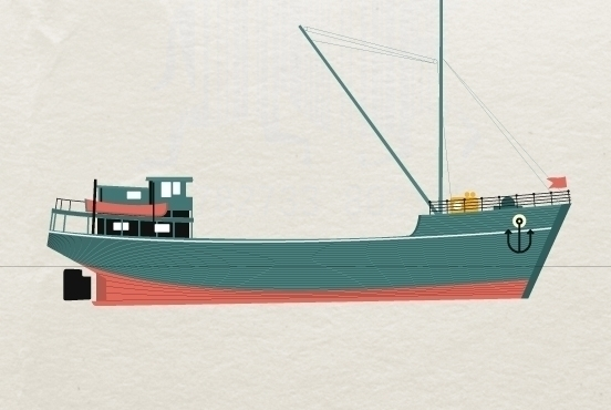 boat, #illustration, flatdesign - marcserre | ello