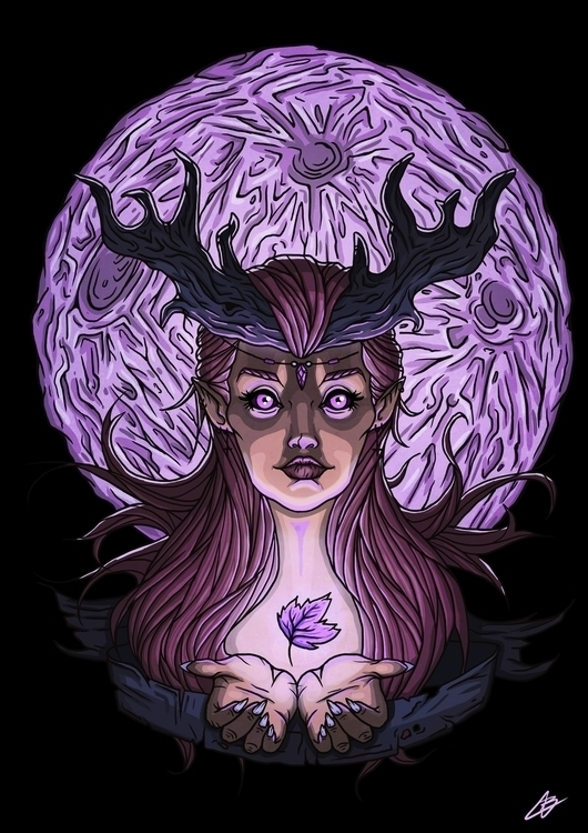 FREYA - illustration, digitalart - benben-9748 | ello