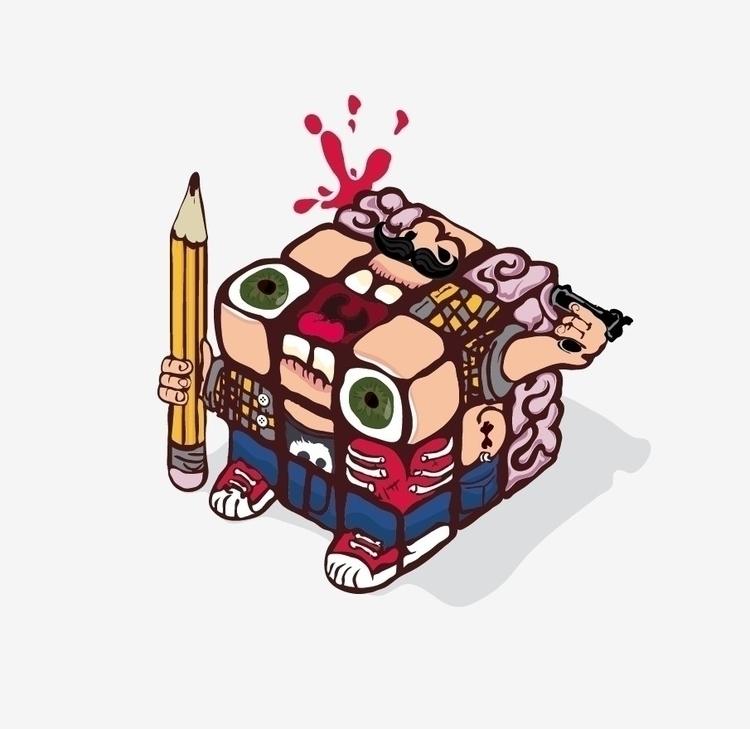 pull - illustration - bozhok_mikhail | ello