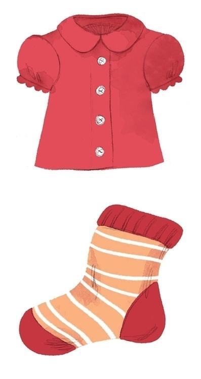 clothes, blouse, sock - cmouta | ello