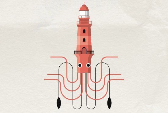 Living Lighthouse - illustration - marcserre | ello