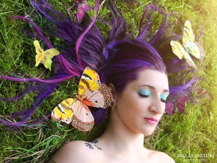 Model: Sanny BlueRazor Photo, M - nelagriminelli_art | ello