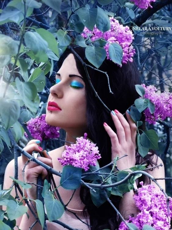 Model: Lussye Schondorf Photo,  - nelagriminelli_art   ello