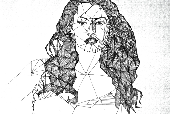 illustration, penink, pen, woman - marcserre | ello