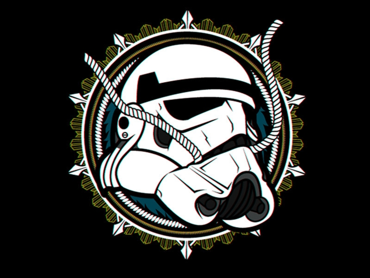 Trooper - stormtrooper, illustration - riezr | ello