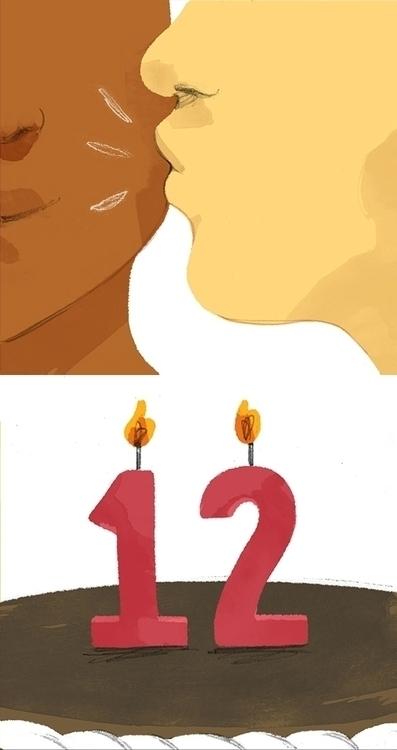 kiss, chocolate, cake, twelve - cmouta | ello