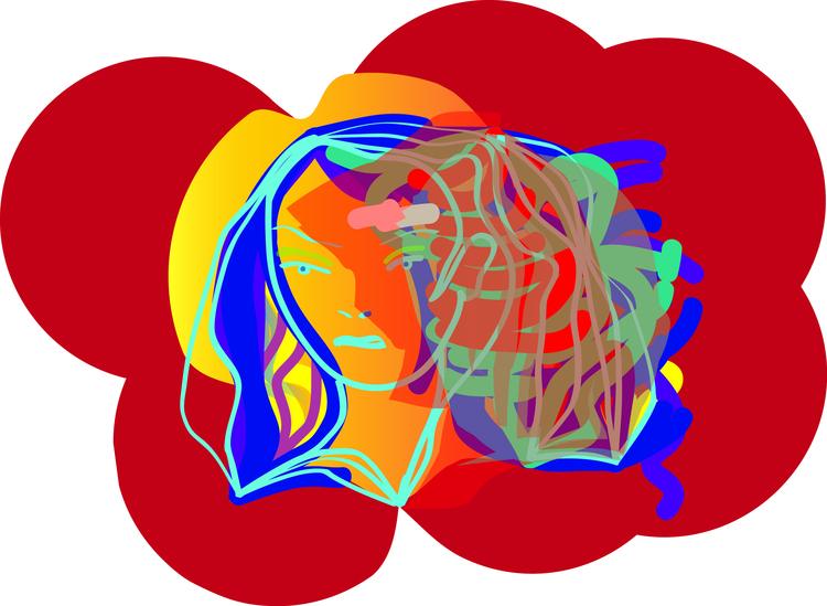 Summerfall, digital drawing, di - erisky | ello