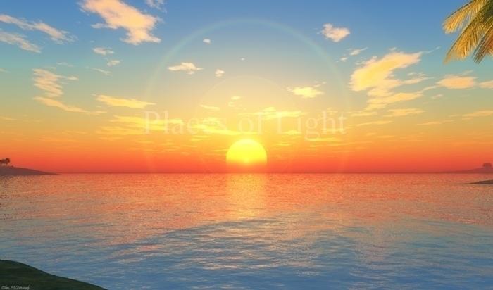 Lemurian Sunset - lemuria, sunset - emcdonough   ello