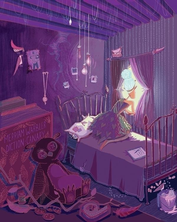 Room - illustration, characterdesign - maggiemcaton | ello