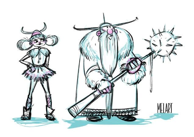 Vikings - melart | ello
