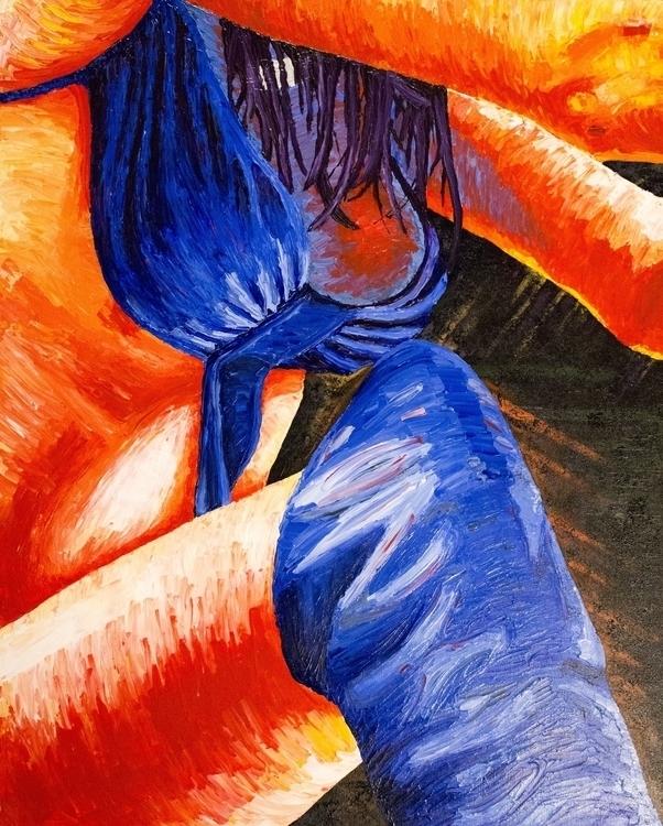 Belle Boots - painting, jessecolton - jl_colton | ello