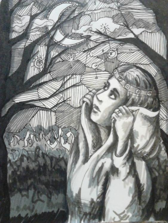 illustration, drawing, feltpen - elf-1123 | ello