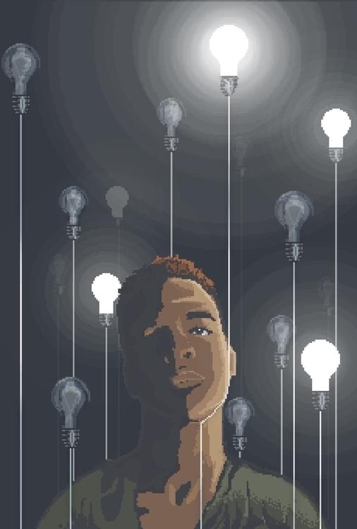 PIxel Art - Portrait - joshemanuel | ello