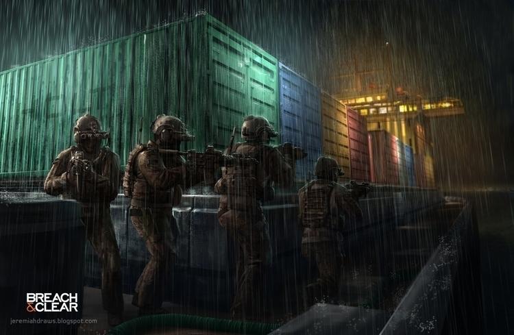 Navy Seal team Breach Clear - jrhumphries   ello
