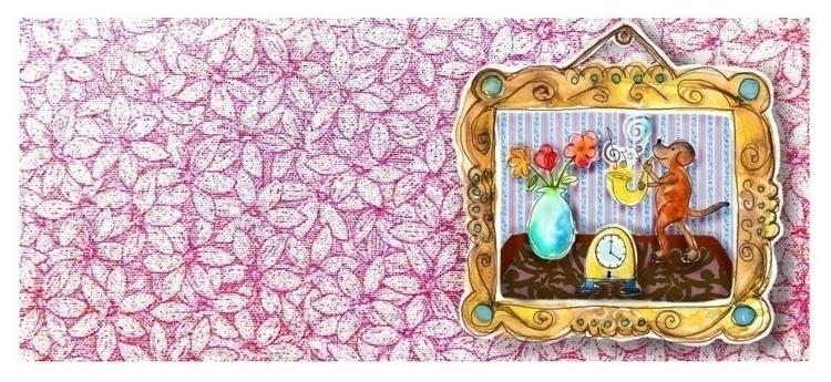 illustration, painting, mixedmedia - elf-1123 | ello