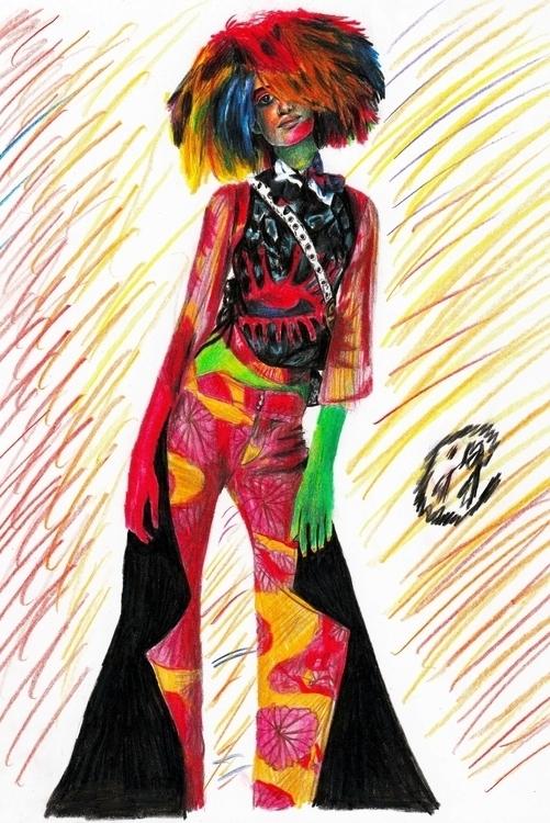 Disco reference) Coloured Penci - juliagurevich | ello