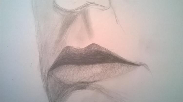 progress, graphite paper - sarahallis | ello