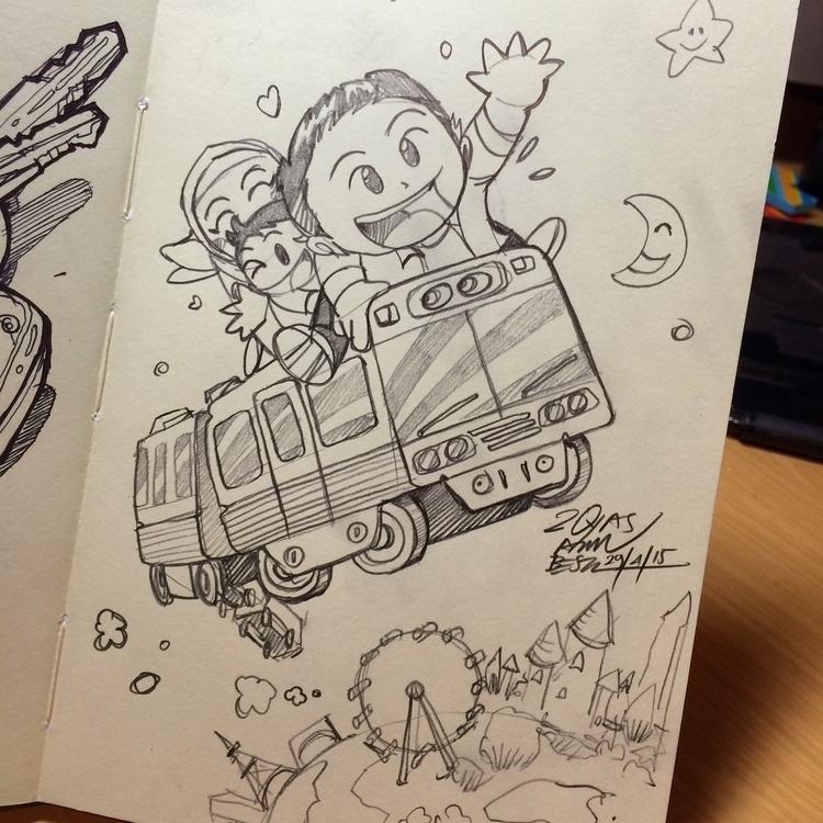 Magical ??  - illustration, pencildrawing - royasamri | ello
