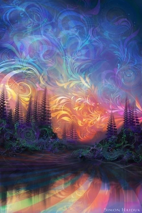 Agostina Sky - illustration, painting - simonhaiduk   ello