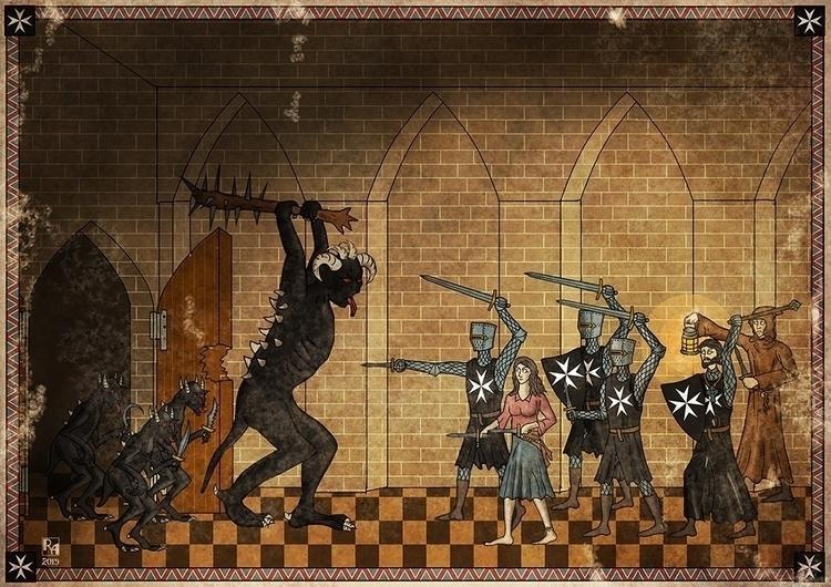 Commissioned piece - illustration - robertaltbauer   ello