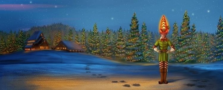 Christmas Tree Elf, multiple aw - jrhumphries | ello